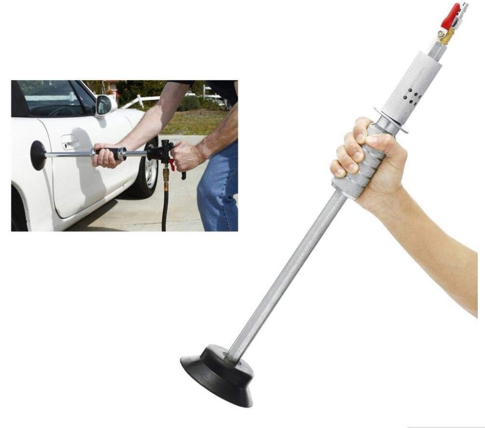 New Car Paint Hammer Air Suction Dent Puller Pneumatic Auto Body With Slide Remove Repair Automotive High Efficiency Tools