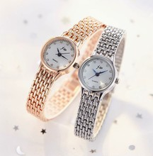 luxury brand women watch New Women's Casual Quartz Stainless Steel strap Band Watch Analog Wrist Watch moda mujer 2019