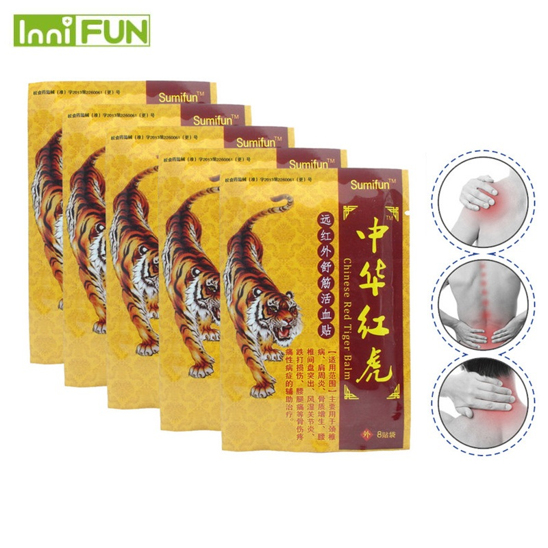 48Pcs/6Bags Pain Relief Antistress Body Massager Ointment For Joints Relief Plaster For Joints Medical Plaster K00106