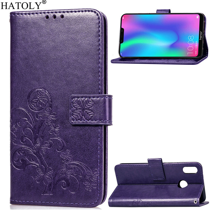 Phone Case For Huawei Honor 8C Cover Flip Case Huawei Honor 8C Case Silicone Leather Wallet Phone Case Funda Huawei Honor 8C in Flip Cases from Cellphones Telecommunications