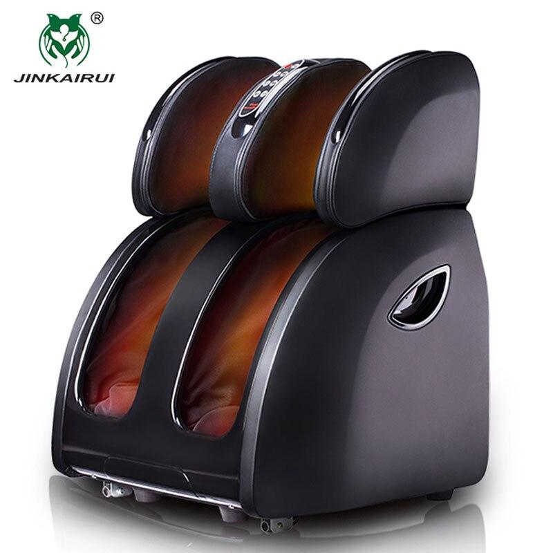 JinKaiRui VIBRADOR ELÉCTRICO masajeador de pies de calefacción por infrarrojos la pierna de ternera muslo masaje Dispositivo de presión de aire Massagem de alivio del dolor