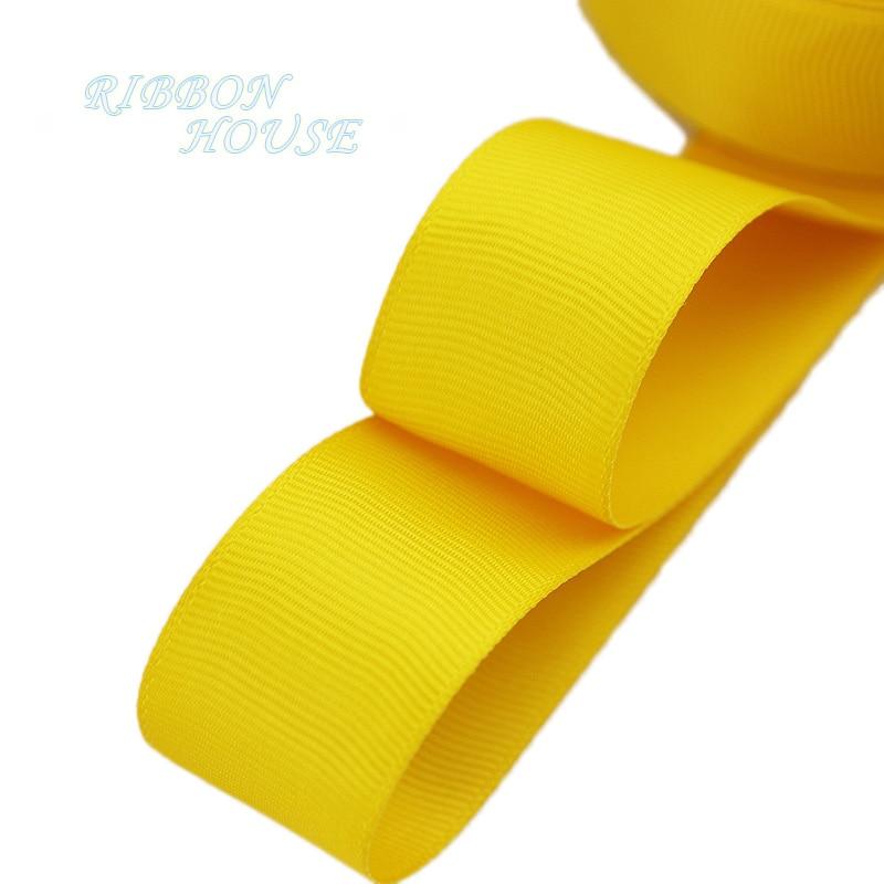 (5 metros lote) 1 (25mm) Fita de Gorgorão de Laranja Amarelo envoltório de  presente Por Atacado Natal decoração fitas 9cd63dc9d079d
