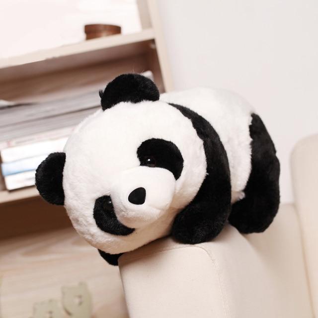 25cm Cute Cartoon Panda Plush Stuffed Animal Toys For Baby Infant Soft Cute Lovely Doll Gift Present Doll Children Toys