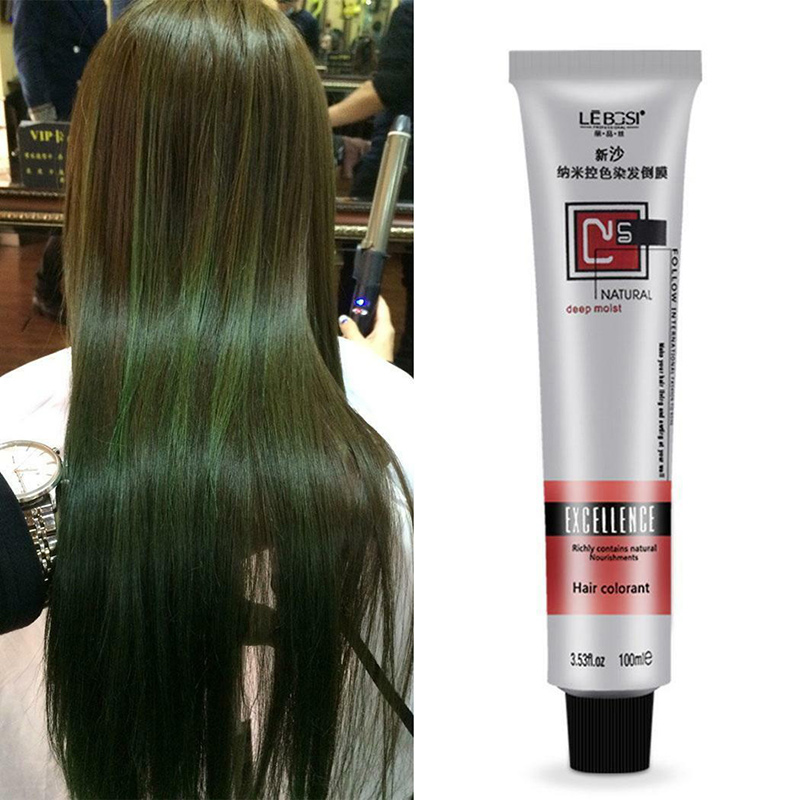 Hot 1 Pcs Hair Tint Colorant Semi Permanent Long Lasing Hair Cream Color Dye Paint SJ66 image