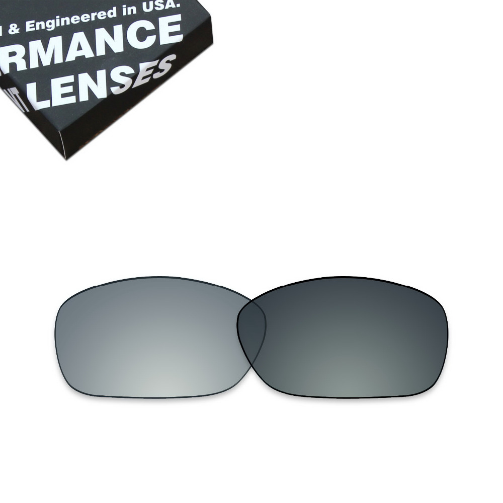 ToughAsNails Polarized Replacement Lenses for Oakley Ten X Sunglasses Photochromic Grey Color (Lens Only)