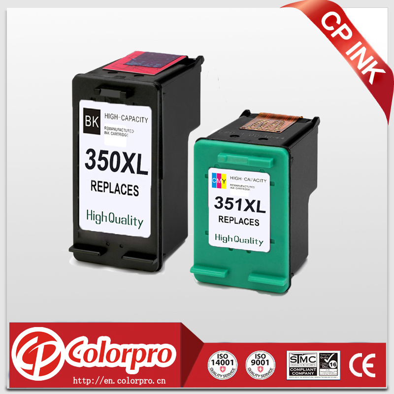 CP 350XL 351XL Replacement for HP350 <font><b>351</b></font> Ink <font><b>Cartridge</b></font> for <font><b>HP</b></font> Photosmart C4200 C4480 C4280 C4580 C5280 J5780 J5730 J5780 (2PK) image