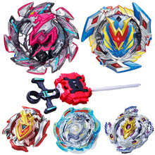 Latest model Beyblade Burst Toy B-113 b-110 b-82 b-79 b-89 with Launcher Blade Blades Metal Bayblade 2018 Top bey blade for Kid