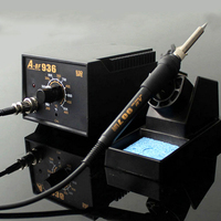 936 ESD Soldering Station 700W Soldering Station 907 Soldering Iron Handle LED Digital Solder For Welding