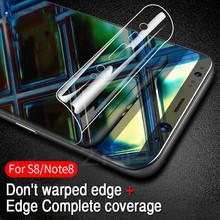 3D Curved Soft Protective PET Film For Samsung Galaxy S8 S8 Plus Note 8  Film For Samsung S7 S7 Edge  Earphone Accessories