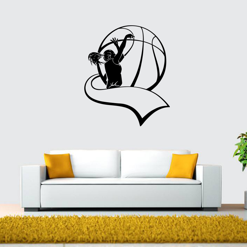 Compare Prices On Volleyball Wall Art Decal- Online Shopping/Buy