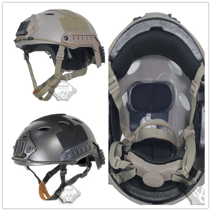 Airsoft FMA Whole sale Maritime FAST Tactical Helmet Jump Type Protective helmet Military Tactical airsoft helmet drop Shipping