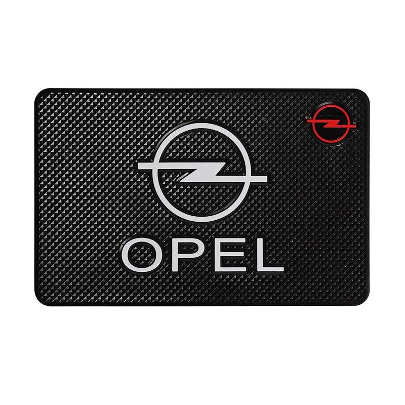 Car Styling Interior Stickers Anti-Slip Mat Auto Emblem Case For Opel Astra H G J Insignia Mokka Zafira Corsa Vectra C D Antara