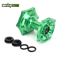 BIKINGBOY 1 Set CNC MX Rear Wheel Hub 36 Holes For KAWASAKI KX 125 250 2003 2013 KX250F 2004 2017 KX450F 2006 2017 KLX450 07 13