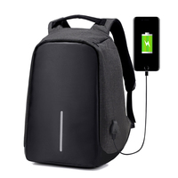 Outdoor Sports Waterproof Large Capacity USB Charging Backpack Laptop Bag Anti Thief Business Traveling Back Pack