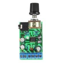 DC1.8-12V TDA2822M Amplifier 2.0 Channel Stereo 3.5mm Audio Amp Board Module green vma2015 15w stereo audio amplifier evaluation module evm board