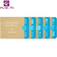 KADS 5pcs Set Beautiful Flower Design Nail Art Stamp Template Stamping Plates Gorgeous Lace Image Manicure