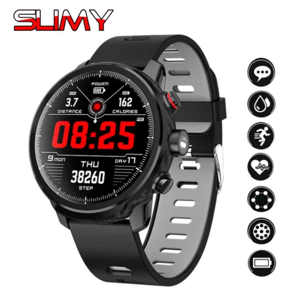 Slimy L5 Smart Watch IP68 Waterproof Standby 100 Days Multiple Sports Mode Heart Rate Monitor Weather Forecast Smartwatch Swim