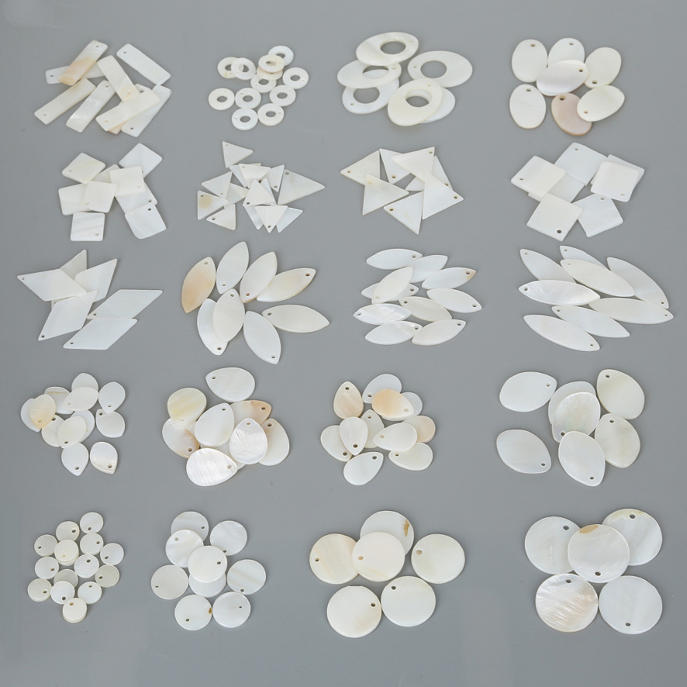 Loose-Beads Charm-Pendant Earring Bracelet Necklace Shell-Stone Jewelry-Making Freshwater