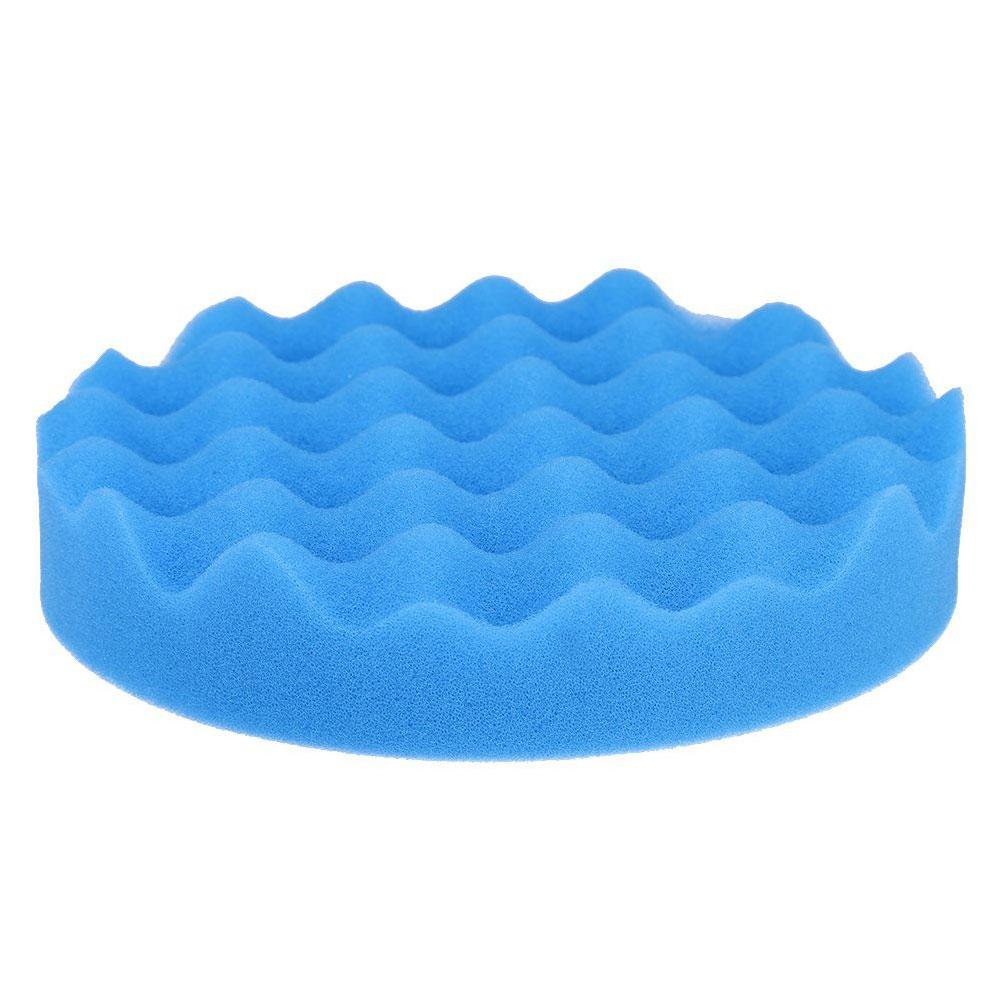 Vehemo 1 шт. полирующая пена автомобиля губка для полировки Pad комплект полировщик буфера для губки Губка для полировки прочный чистящие средства авто - Цвет: blue