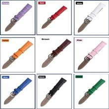 Leather Strap Bracelet for girl and boy12/14/16/18/19/20/22mm Watch Strap Accessories Wristband Leather Belt for Watch Wrststrap