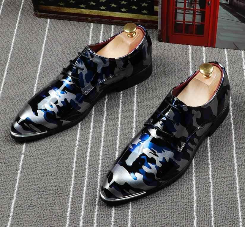 Najwyższej jakości gorąca czerwone spodnie Toe mieszkania czarne zamszowe skóry lakierowanej gradientu jakości Chaussure Femme człowiek sukienka buty wsuwane BMM314
