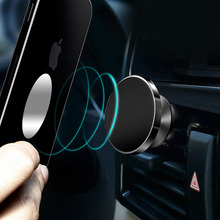 360 degree rotating magnetic suction mobile phone bracket  phone stand  phone car holder  magnetic phone holder цена