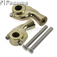 Brass Motorbike Handlebar Clamp Bar Risers Motorcycle Riser Fit for 1 (25.4mm)