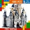 4080pcs Lepin Princess Castle City Street Creators 16008 Friends DIY Model Building Blocks Toys Compatible With