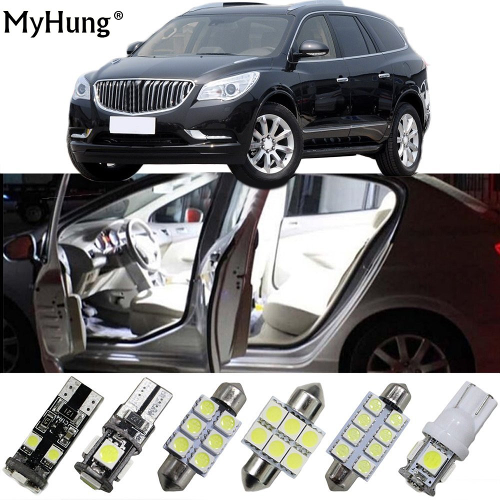 For buick lacrosse enclave car led headlight bulbs replacement bulbs dome map lamp light bright white