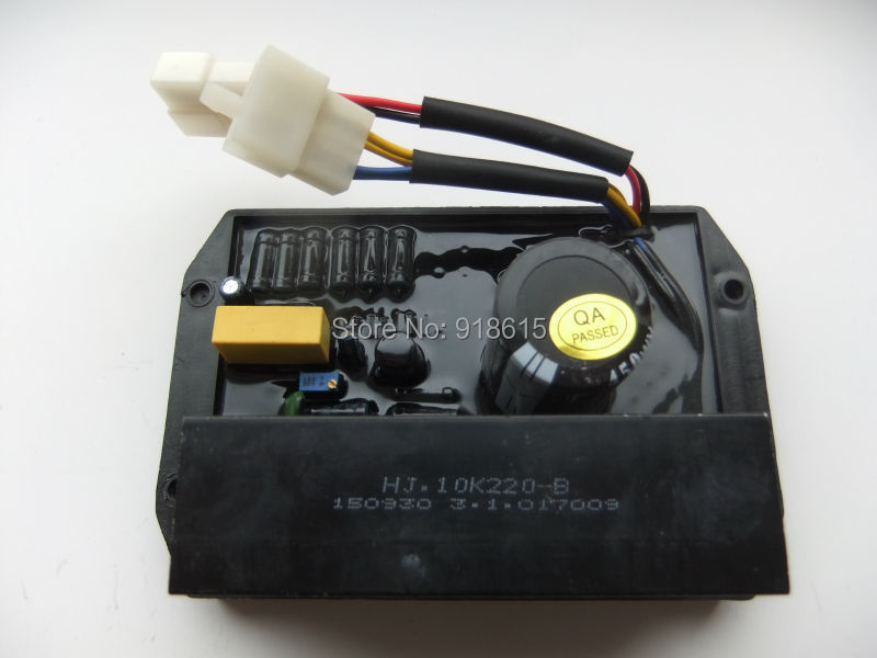 HJ.10K220-B AVR AUTOMATIC VOLTAGE REGULATOR SINGLE PHASE GENERATOR PARTS