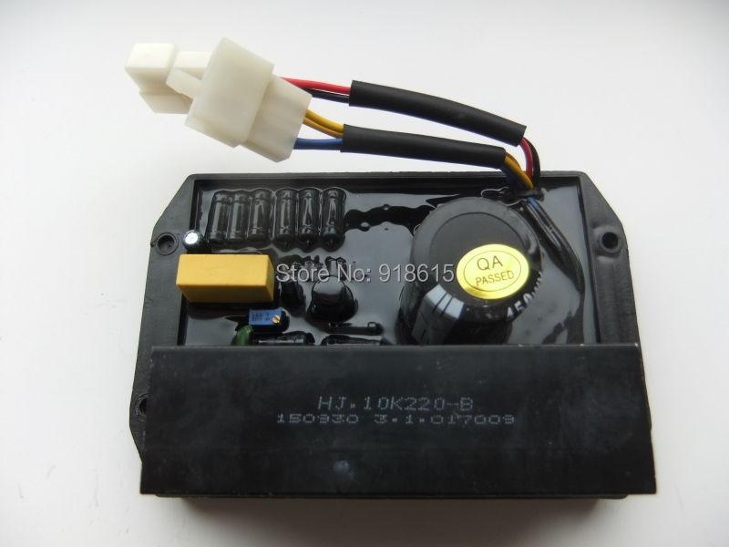HJ.10K220-B AVR AUTOMATIC VOLTAGE REGULATOR SINGLE PHASE GENERATOR PARTS rgv12100 robin generator avr automatic voltage regulator replacement parts