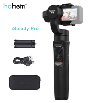 Hohem iSteady Pro/pro2 3-Axis Handheld Gimbal Stabilizing for GoPro Hero 7 black /6/5/4/3 for Sony RX0 for SJCAM Action Camera