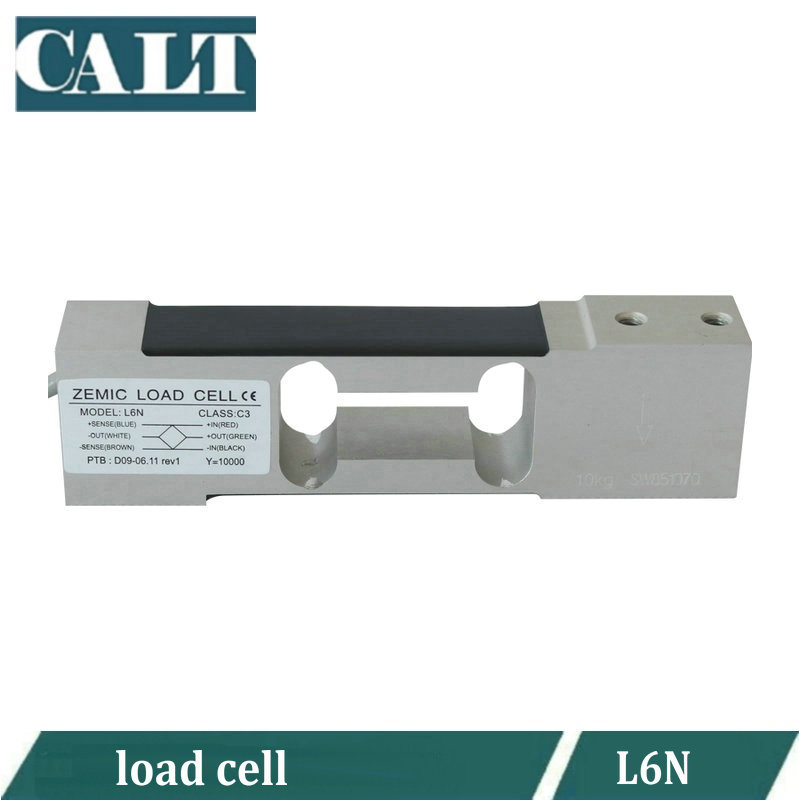 ZEMIC L6N series Aluminum alloy load cell force sensor 3kg 5kg 8kg 10kg 15kg 20kg 50kg 100kg-in Level Measuring Instruments from Tools    1