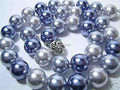 """Preço de atacado!!! 2014 Moda! 35 """"10mm Mar Do Sul da Shell Pérola Colar AAA Multicolor beads jóias fazendo cerca de 85 pcs/vertentes"""