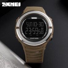 SKMEI New Digital Watch Dual Time Display Waterproof Multifunction Men s Watches Fashion Outdoor Sports Countdown