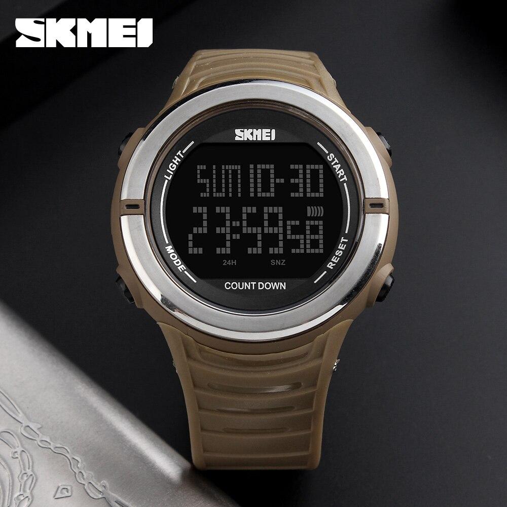 SKMEI New Digital font b Watch b font font b Dual b font Time font b