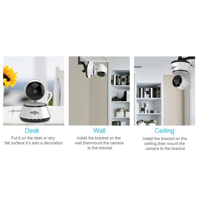 720P IP Camera Wi-Fi Wireless Home Security Camera Surveillance wifi ip Camera Day/Night Vision CCTV Automatic alarm hiseeu FH2A