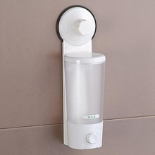 Fashion Simple Soap dispenser Suck wall fashion Liquid Dispensers 8.5*8*28cm free shipping