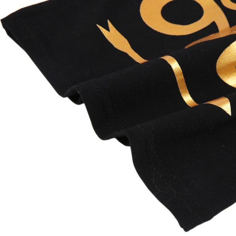 0 4T 3PCS Summer Newborn Clothing Set Black Sleeveless Letter Tank tops Shorts Headband Kids Costume in Clothing Sets from Mother Kids