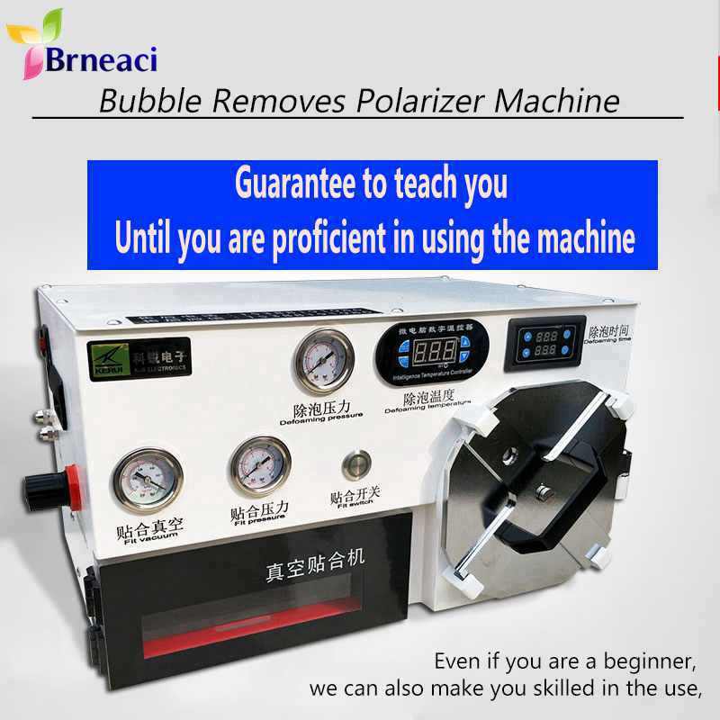 Latest High Quality 10 Inches LCD OCA Vacuum Laminating Machine Bubble Remover Automatic Autoclave For iPhone Samsung Xiaomi