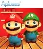 Novelty Mario Cartoon Folding LED Night Light Baby Room Kids Bed Lamp Sleeping Night Lamp Decoration