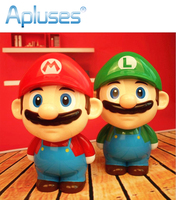 Novelty Mario Cartoon Folding LED Night Light Baby Room Kids Bed Lamp Sleeping Night Lamp Decoration