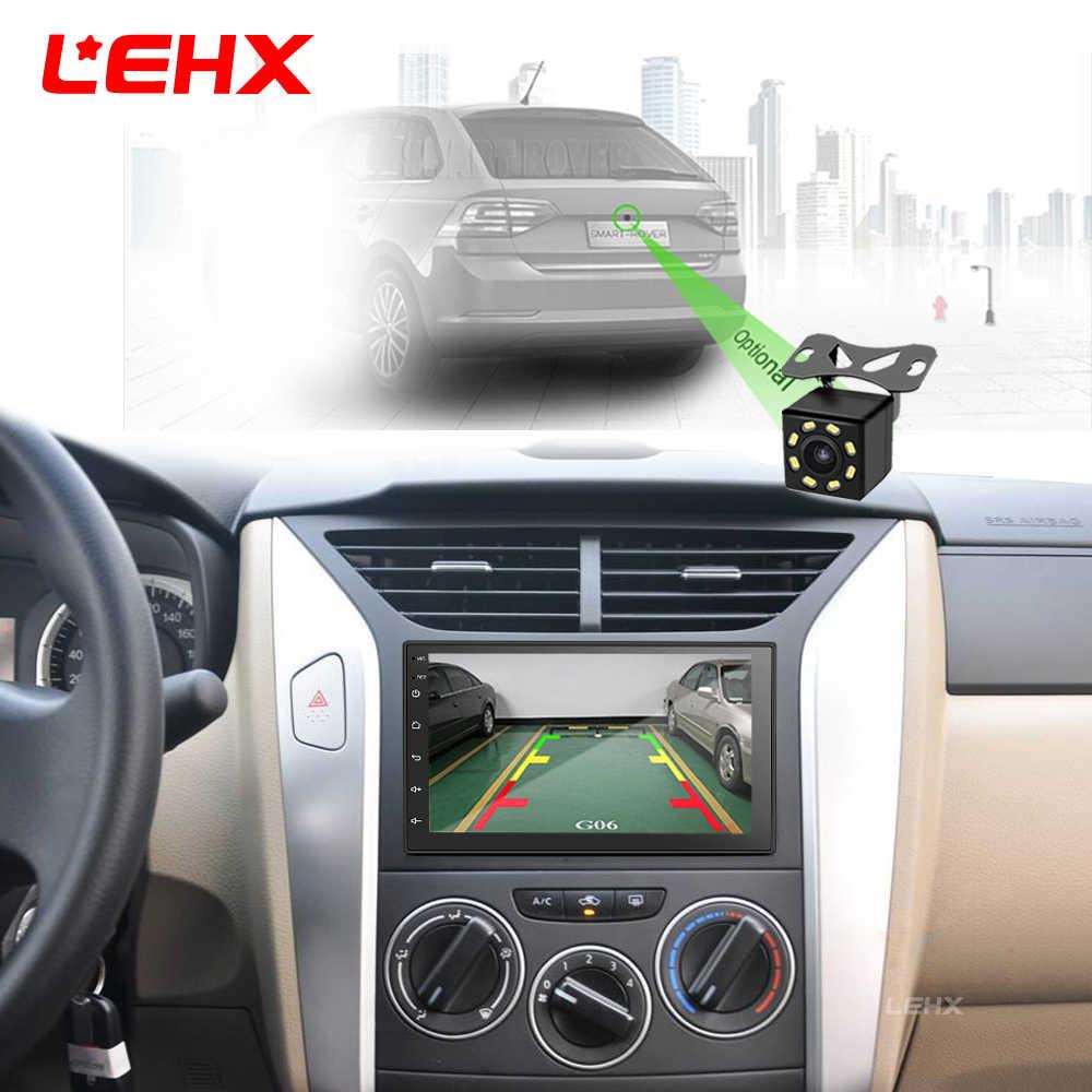 2 Din Radio samochodowe Android 8.1 uniwersalne Radio samochodowy odtwarzacz multimedialny nawigacja GPS dla Nissan Toyota Hyundai Polo