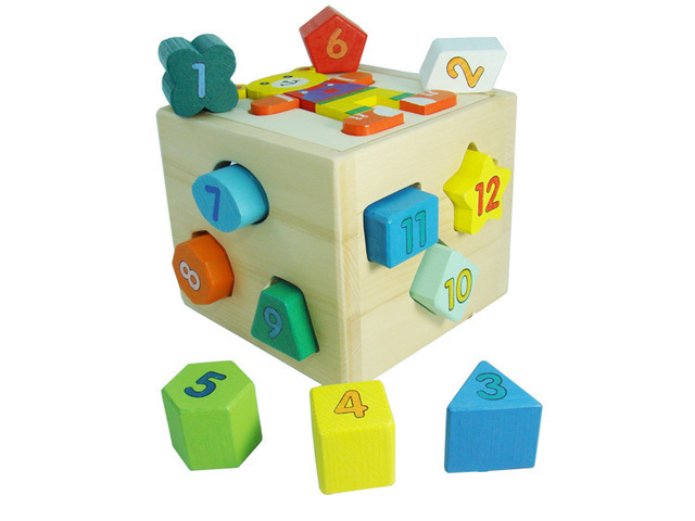 Free Shipping 2013 New 1pcs 3d Wooden Animal Bear Intelligence Box Puzzle Toys,Wholesale, Retail