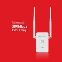 WI-FI Ретранслятор 802.11N/B/G Сети Adapter2.4G Маршрутизатор Wi-Fi 300 М Двойной 5dBi Антенны Усилитель Сигнала COMFAST CF-WR302S-V2