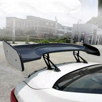 Universal Carbon Fiber Car Racing Rear Trunk Spoiler Wings Car styling for All Cars Sedan 4 Door GT Style