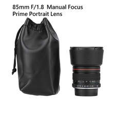 Lightdow 85mm f/1.8 Enfoque Manual Retrato Lente Lente de la Cámara para nikon dslr d800 d600 d7000 d7200 d7100 d5100 d5000 d3100 Etc