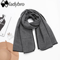 Ladybro High Quality Women Scarf Winter Za Brand Embroidered Big Blanket Scarf Female Winter Lady Long Thick Shawls And Scarves