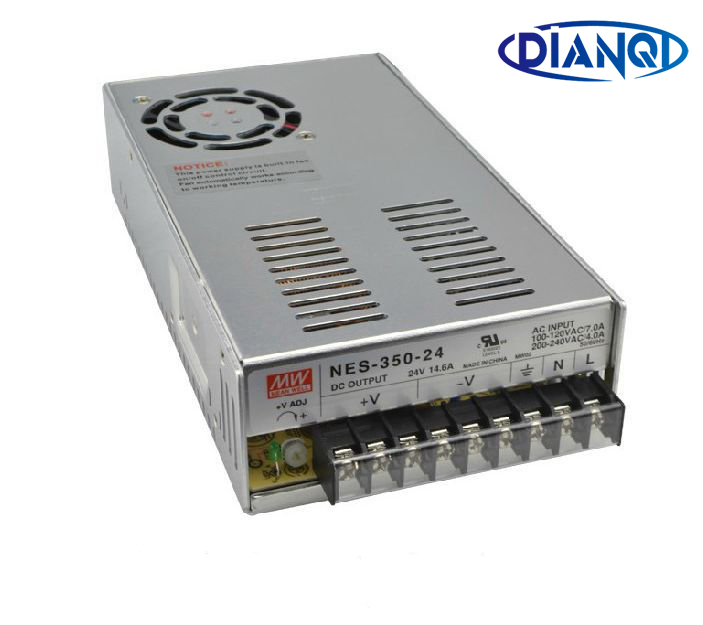 Original MEAN WELL power suply unit ac to dc power supply NES-350-24 300W 5V 60A MEANWELL dianqi original mean well power suply unit ac to dc power supply nes 200 24 200w 24v 8 8a meanwell