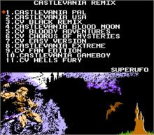 CASTLEVANIA REMIX (Halloween Special) 42 in 1 Game Cartridge for NES Console